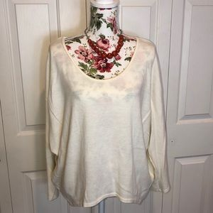 Gorgeous Off White Colored Sweater by Apparel
